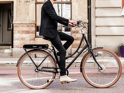 Stålhästens elcykel - Prima